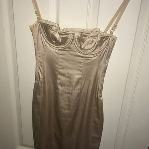 Dolce & Gabbana Dresses - D & G Dolce & Gabbana Cream Slip Dress